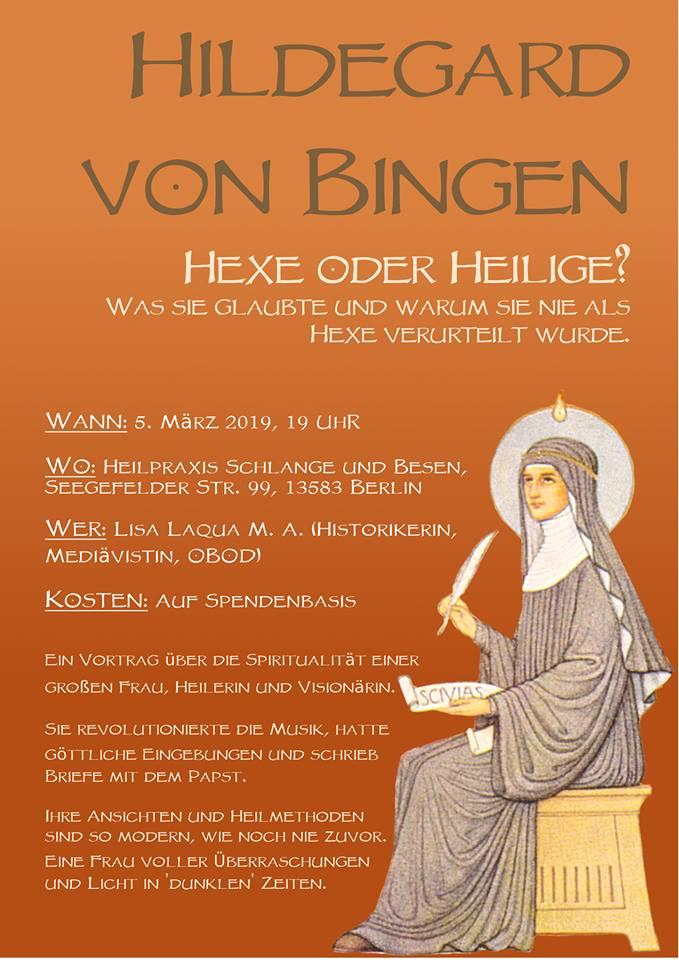Vortrag Hildegard von Bingen