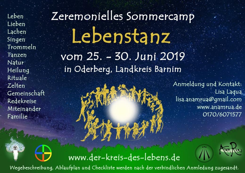 Sommercamp Lebenszant 2019